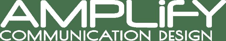 Amplify Communication Design Logo